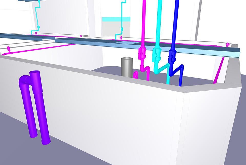 飼育水槽設備
